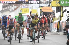Groenewegen edges Ewan in photo-finish as Ciccone retains Tour de France lead