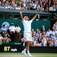 Federer eventually edges out brilliant Nadal to book Wimbledon final against Djokovic