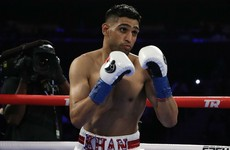 Amir Khan needs less than four rounds to beat Billy Dib in Saudi Arabia