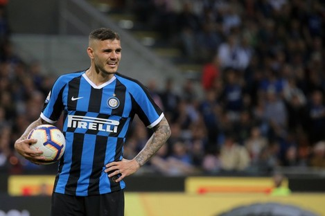 The striker was stripped of Inter's captaincy in February.