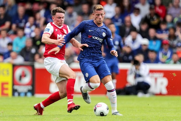 Olivier Giroud scores twice in Inchicore as Chelsea bag friendly win against St Pat's