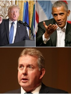 Latest leaked cable shows ex-UK ambassador claimed Trump pulled Iran deal to spite Obama