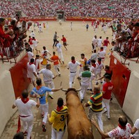 Final day of Pamplona bull run festival ends with three more gorings
