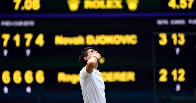 Djokovic beats Federer in longest-ever Wimbledon final for fifth title