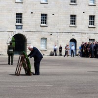 Photos: Events take place to honour Irish troops who've died in wars or UN missions
