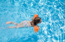 Am I being a bad parent... by pushing my four-year-old to face her fear of the water?