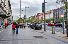 There are plans for the installation of four bus shelters along Dublin's O'Connell Street