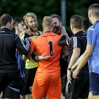 It kicked off at the end of last night's game between UCD and Bohemians