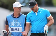 Koepka gains the inside track on Royal Portrush from Irish caddie