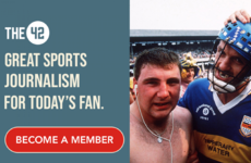 Love The42? Become a member and support your favourite sports news source
