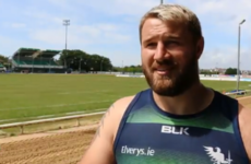 McAllister feeling the heat of Connacht's pre-season, but excited for all to come after