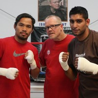 Khan says Pacquiao fight next provided Pac-Man emerges uninjured from Thurman clash
