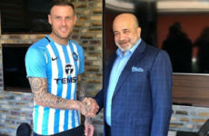 Irish striker Anthony Stokes signs for second division club in Turkey