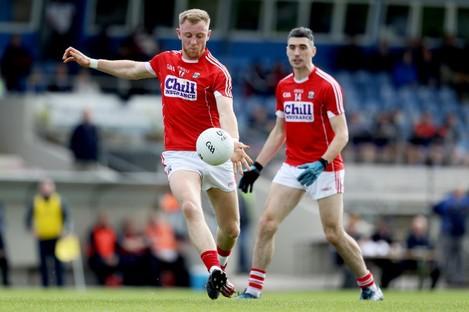 Killian O'Hanlon returns for Cork this weekend.