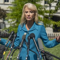 Kellyanne Conway questions reporter's ethnicity while defending Trump's racist remarks