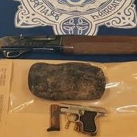 Two firearms and ammunition found by gardaí after search of two cars in Dublin