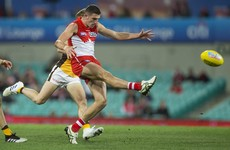 'He's gone to another level': Colin O'Riordan rewarded with new contract at Sydney Swans