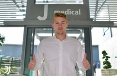 Ajax captain De Ligt arrives in Turin to complete €75m Juve move