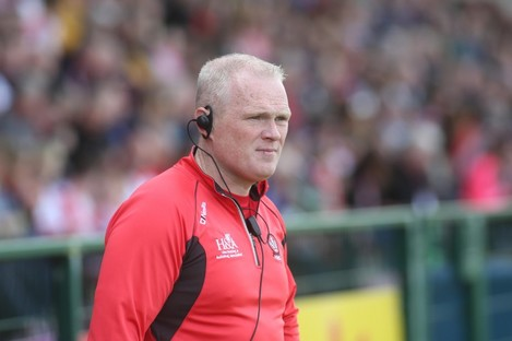 Damian McErlain has stepped down as Derry boss.