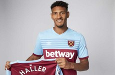 French striker joins West Ham for club record £45m