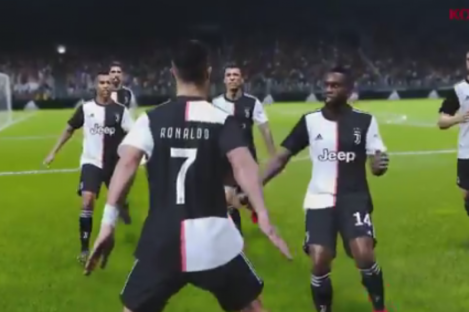 The Juve players in the new PES.