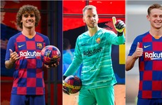 Barcelona boss has high expectations for €224 million trio