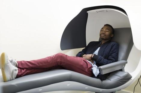 A sleep pod in Maynooth University