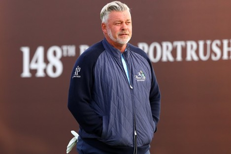 Northern Irishman Darren Clarke.