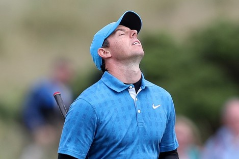 A day to forget for McIlroy.