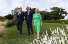 Leo is eating less meat to reduce his carbon footprint, but Micheál says he's 'walking a lot'