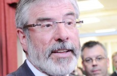 Gerry Adams: Yes vote in referendum 'the result of fear of the people'