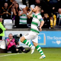 Jack Byrne inspires Shamrock Rovers to come-from-behind win in Europe