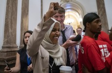 Ilhan Omar brands Trump a 'fascist' as the US president tries to distance himself from 'send her back' chant