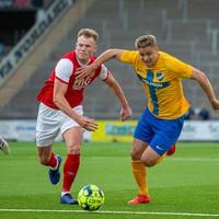 Henrik Larsson's son on target as St Pat's Europa League dream ends