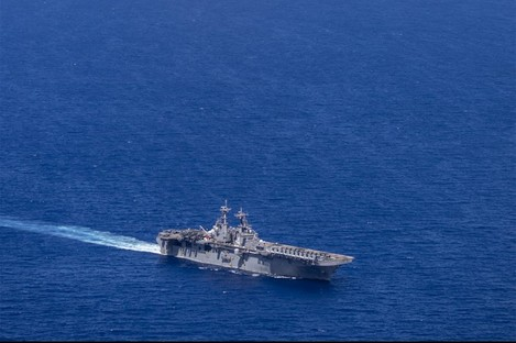 The USS Boxer (file photo)