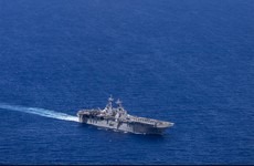 US warship shoots down Iranian drone near Persian Gulf