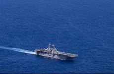 US warship shoots down Iranian drone near Persian Gulf