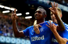 Morelos hat-trick helps Rangers to 10-0 aggregate win
