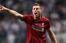 Klopp thankful for Milner's 'dirty' Liverpool team talks