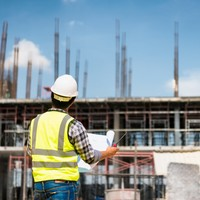 40% drop in the number of site accidents in the construction industry this year