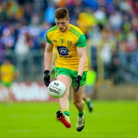 'He snapped his ankle in training. It's a massive blow, he would relish Croke Park'
