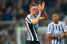 Newcastle midfielder flattered by Man United transfer links