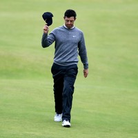 Emotional McIlroy misses Open cut at Portrush after coming agonisingly close