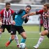 Floodlight failure delays kick-off but Derry shine in win over Sligo