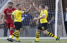 Dortmund sink youthful Liverpool in US tour opener