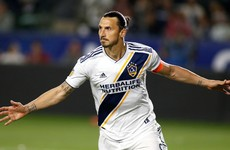 Hat-trick hero Zlatan dominates LA derby