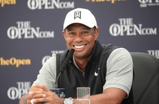Tiger Woods on sampling Guinness in Ireland and more Tweets of the week