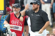 Shane Lowry shoots 63 to take four-shot lead into final round of The Open