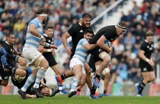 Depleted New Zealand survive Argentina onslaught to claim narrow win
