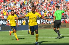 Promising 20-year-old forward Nketiah scores twice to help Arsenal see off Fiorentina